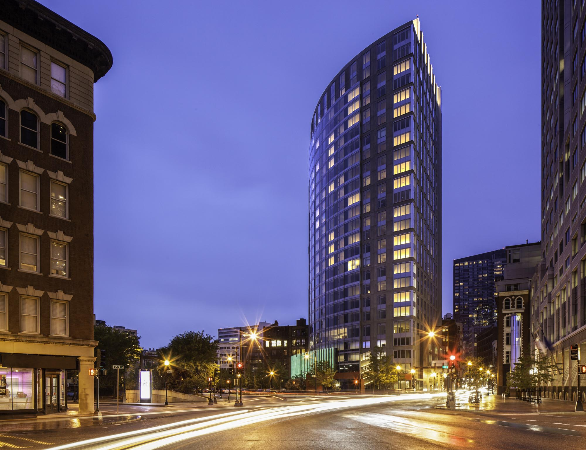 Apartment Building Boston radian boston | modern rentals on the greenway